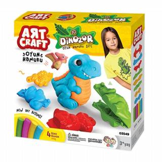 Art Craft 3d Dinozor Hamur Set 200 gr